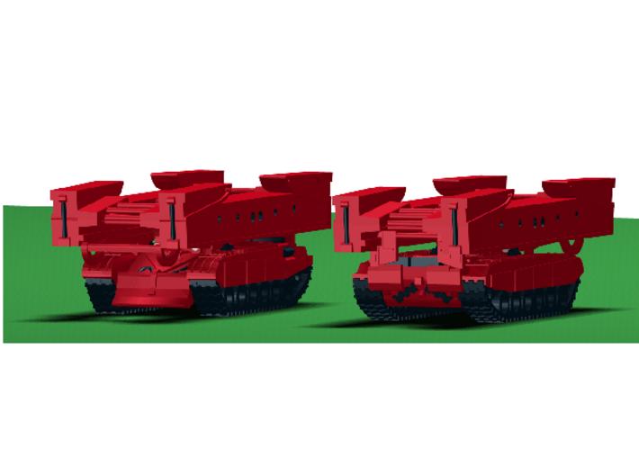 MG144-R07B MTU-72 Bridge Layer 3d printed CAD Render