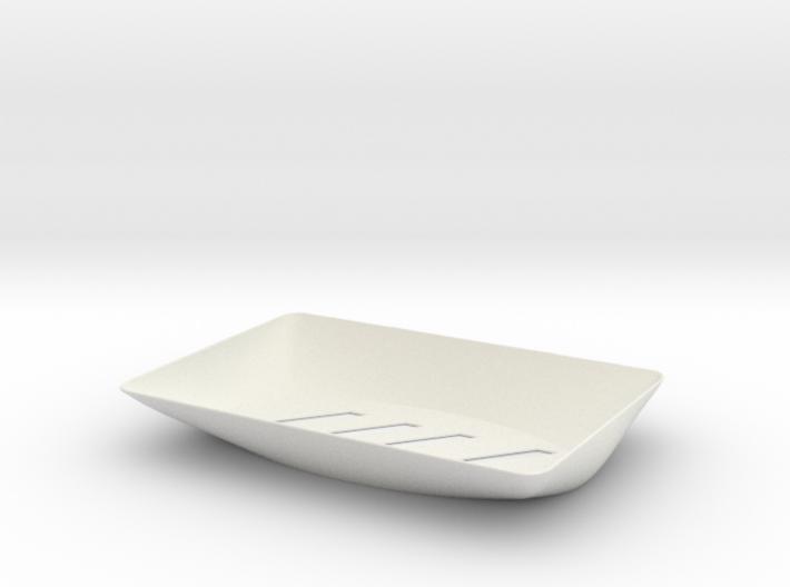 Plastic Soap Dish 3d printed