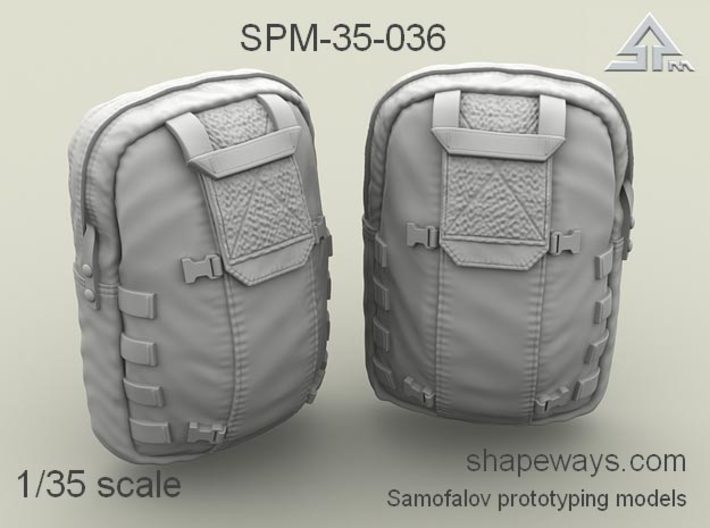 1/35 SPM-35-036 Pack optional module 3d printed