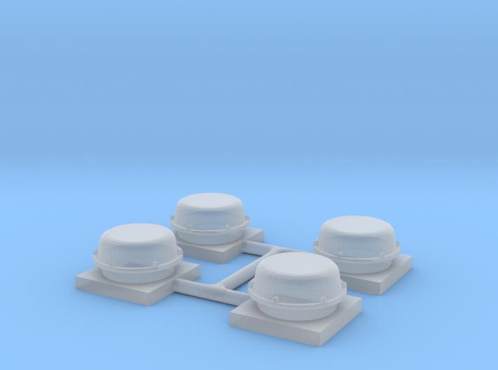 GPS Dome (N) 3d printed