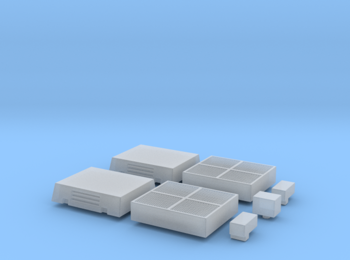 HO Siemens SD160 LRV Roof Detail Set 3d printed