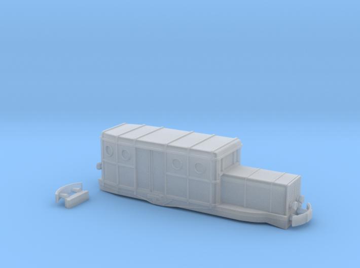 Beast - Zm - 1:220 3d printed