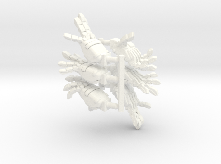 VF-11 Relámpago - Hands; Dynamic 3d printed