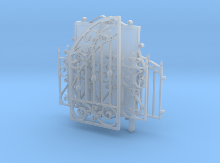 Iron fences and tableau 3d printed
