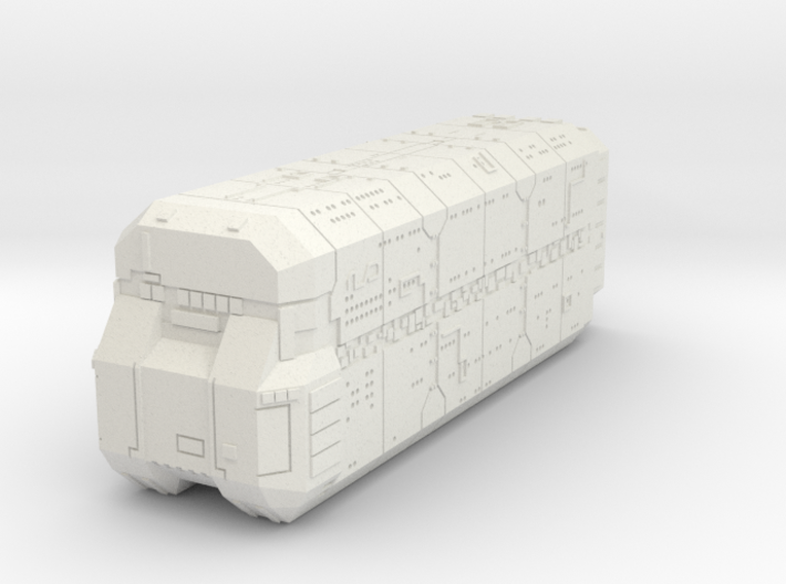 Prison Ship 3d printed