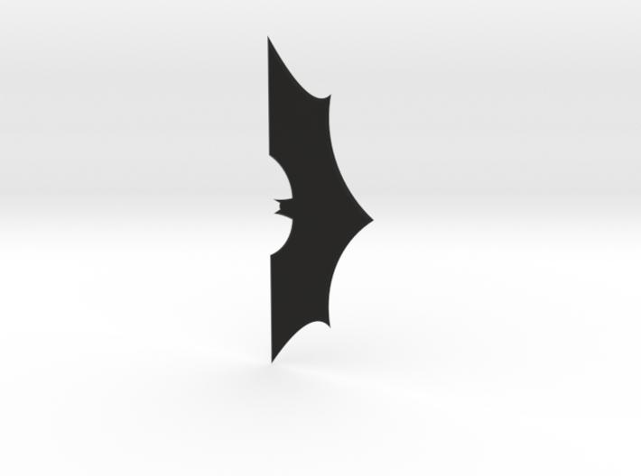 1:2 Scale Batarang From Batman 3d printed
