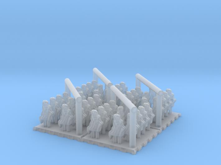 1/700 Blastbags for 203mm Turrets Type MYOKO 3d printed