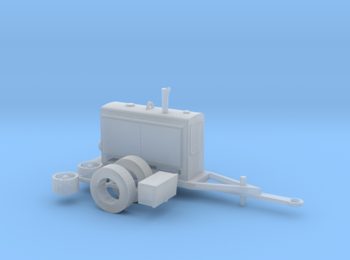 1/64th Trailer mounted Lincoln type Welder 3d printed