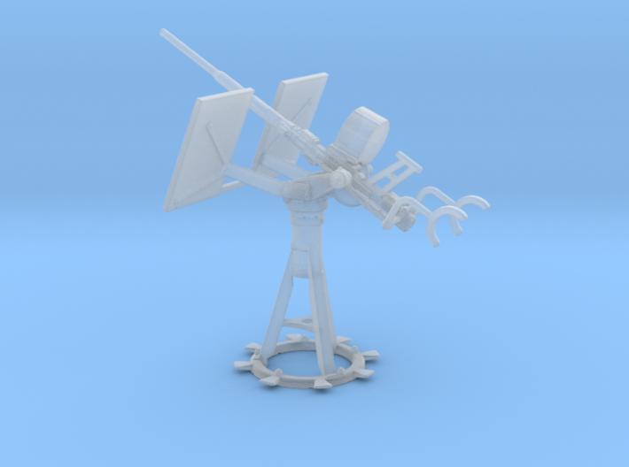 Single 20mm Oerlikon Elevated 1/72 3d printed