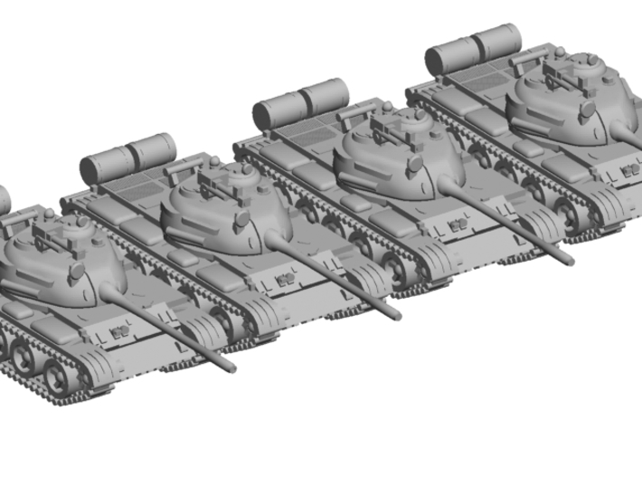 1/220 scale T-55 tank 3d printed