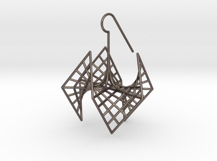 spiderRose (medium) 3d printed