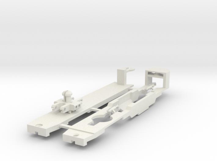 Sneltram Utrecht chassis, N-gauge 3d printed