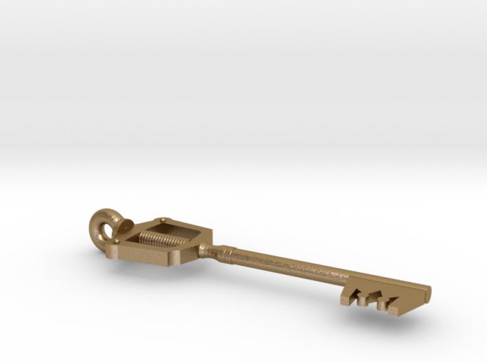 Keyblade Pendant 3d printed