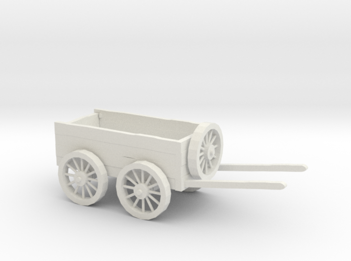 Dungeon Tabletop RPG Dragon Horse Cart 3d printed