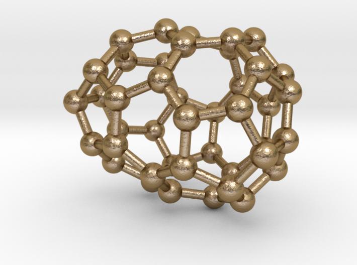 0248 Fullerene C42-27 c2 3d printed