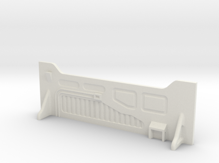 Sci-Fi Barrier / Wall / Corridor 3d printed