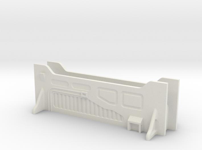 Sci-Fi Barrier / Wall / Corridor - Set (x2) 3d printed