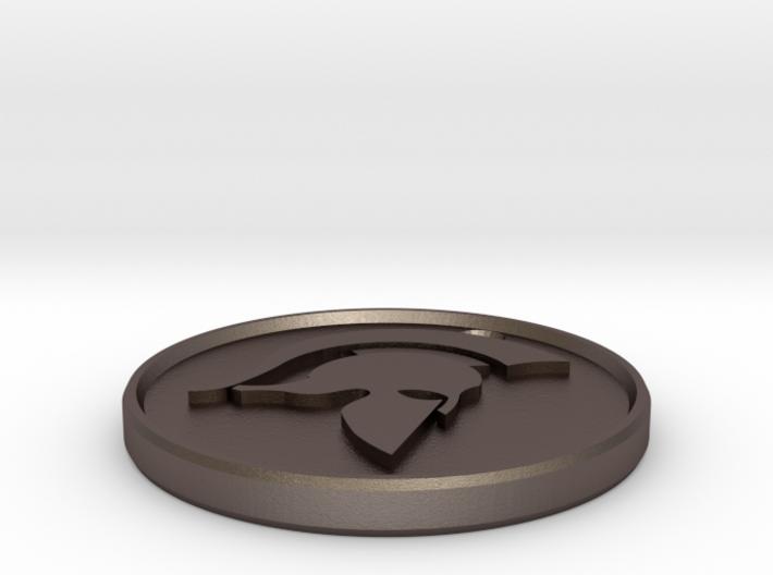 Spartan Keyring 3d printed