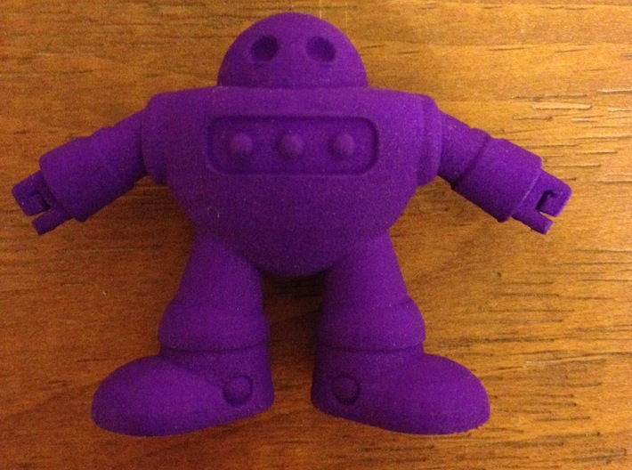 Barry the robot 3d printed