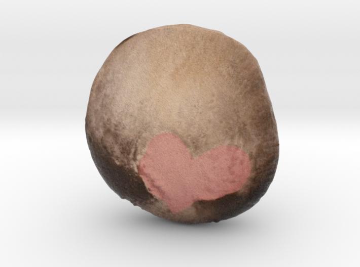 Pluto 3d printed