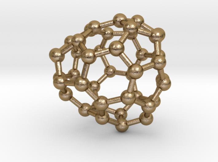 0250 Fullerene C42-29 c1 3d printed