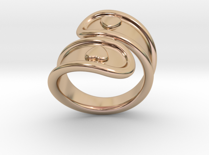 San Valentino Ring 23 - Italian Size 23 3d printed