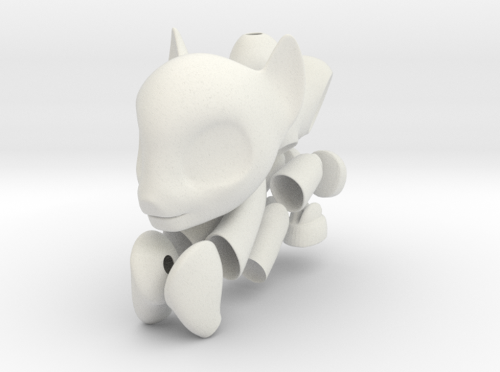 Pony Bjd MALE earth type 3d printed