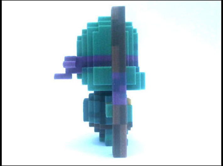 """""""Don"""" Voxel Figurine 3d printed"""