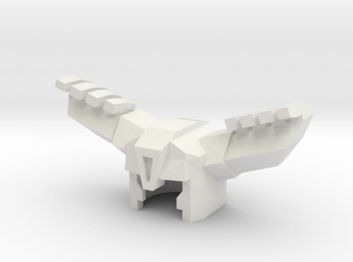 Robohelmet: Antler Head 3d printed