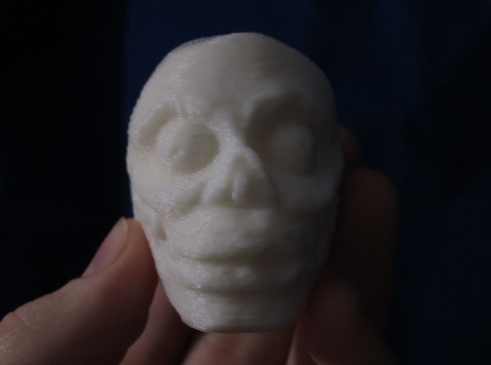 Aztec Death Whistle 3d printed view video to hear