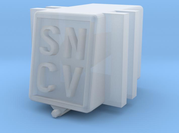 SNCV boite essieux - NMVB assendoos NMVB 3d printed Most details / le plus détaillé / Meeste details