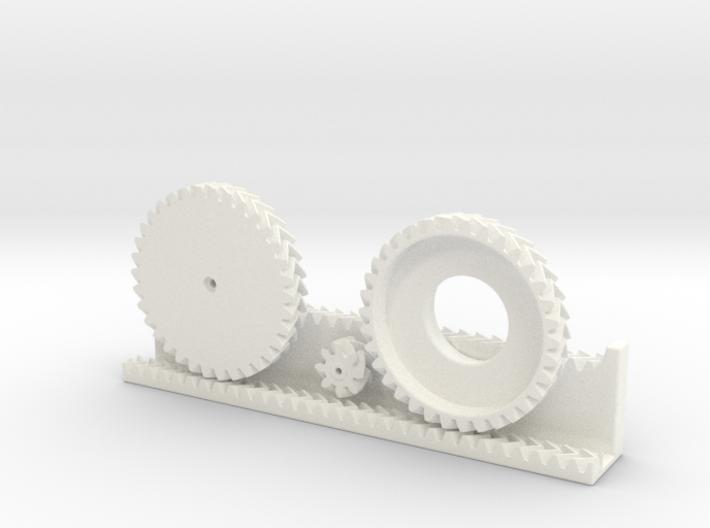 Balancing Gears 3d printed