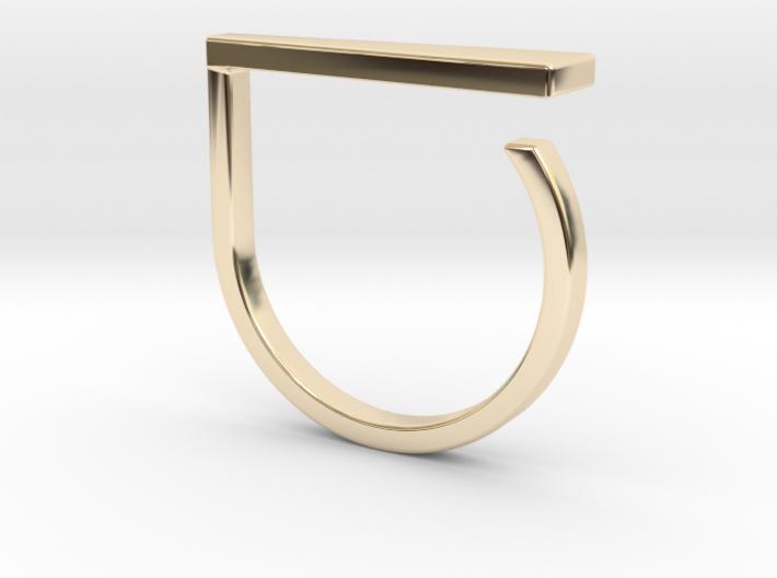 Adjustable ring. Basic model 9. 3d printed
