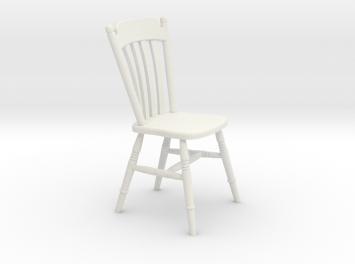 1:24 Thumb Chair (NOT FULL SIZE) 3d printed