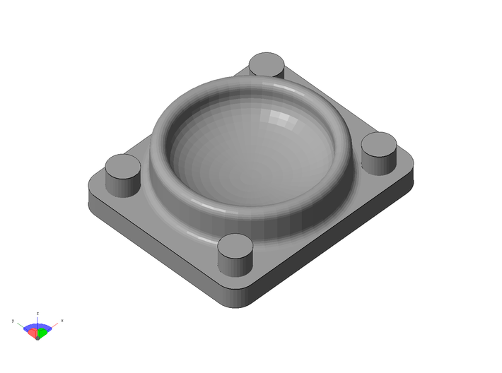 Poling Pocket H0 12x 3d printed