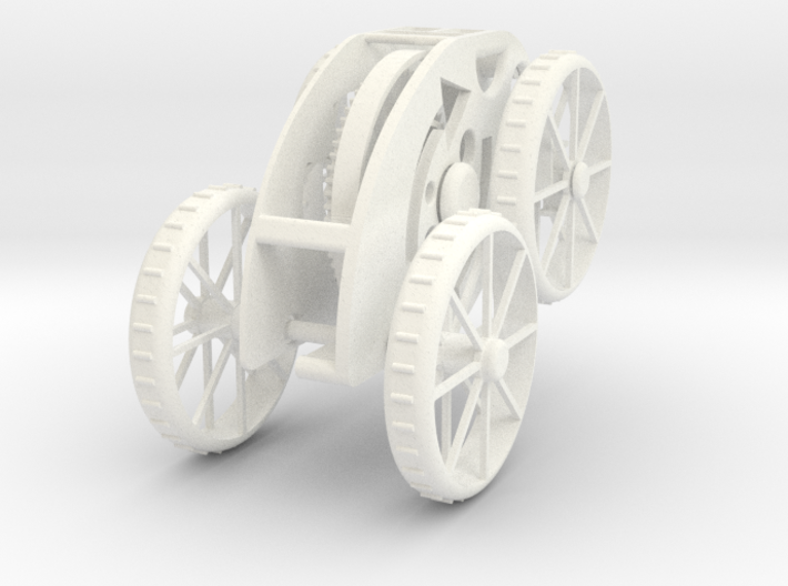 Pull Back only Wind-up toy Car 3d printed