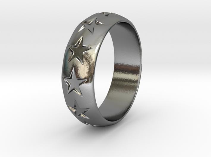 Eugen - Ring - US 9 - 19 mm inside diameter 3d printed