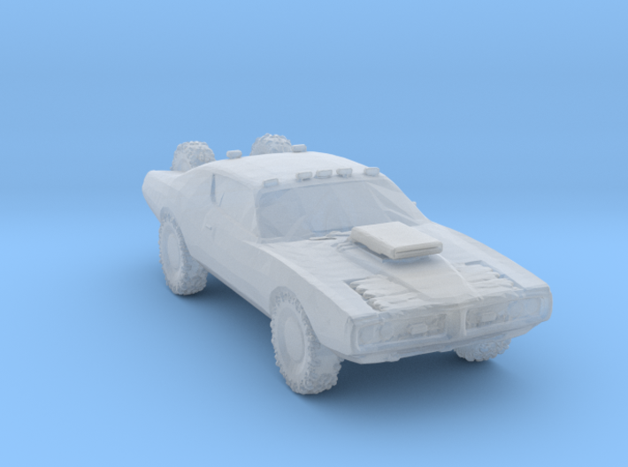 Wasteland 4x4 charger 3d printed