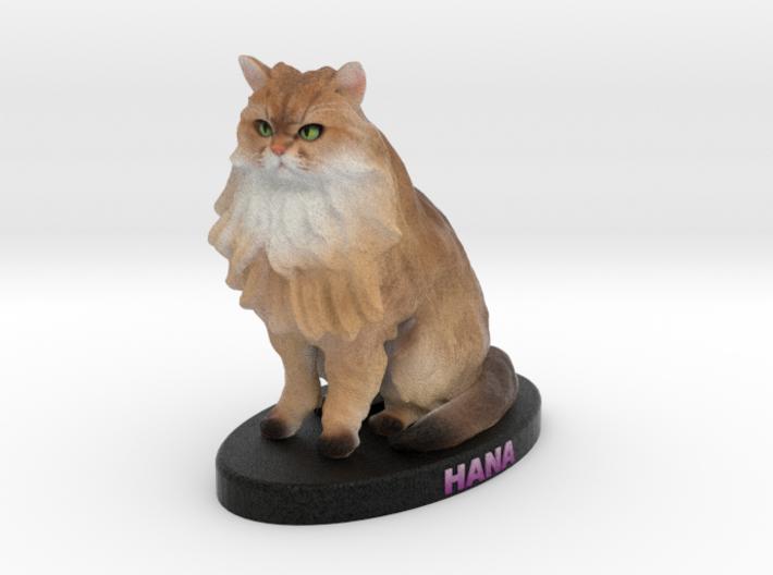 Custom Cat Figurine - Hana 3d printed
