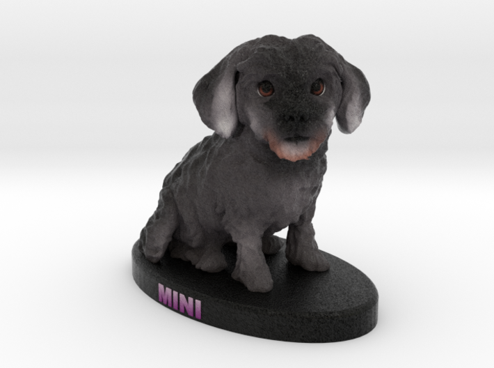Custom Dog Figurine - Mini 3d printed