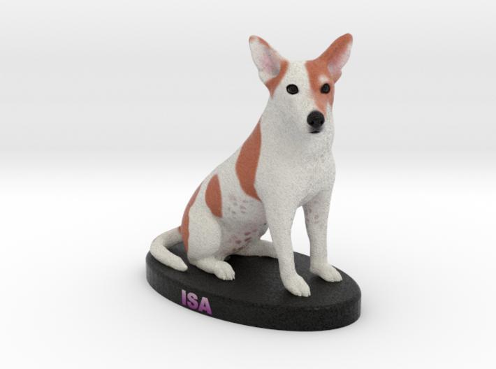 Custom Dog Figurine - Isa 3d printed