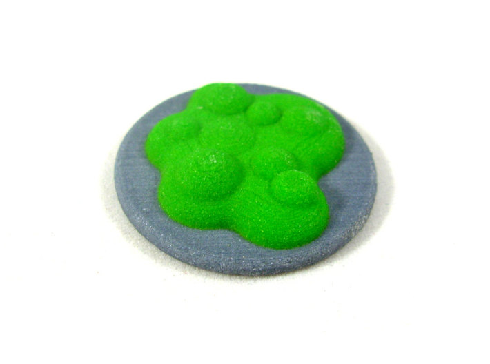 Chemical Spill Tokens (Toxic Liquid), Set of 5 3d printed