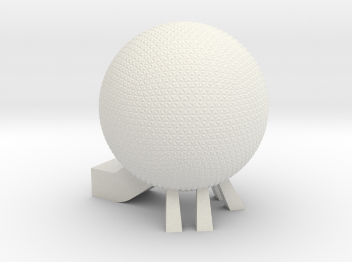 EPCOT Spaceship Earth Model 3d printed