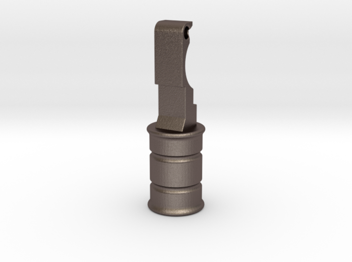 KJW KC-02 Charging Handle Rounded Knob Style 3d printed
