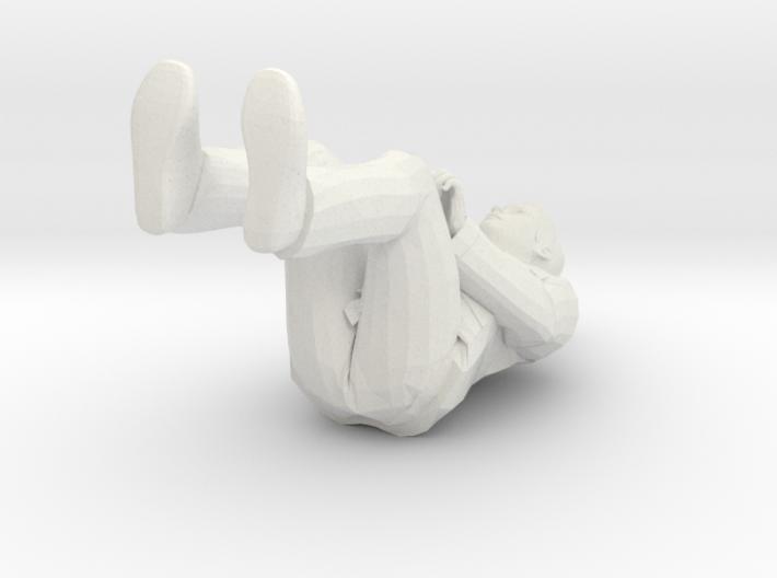Regular Joe in 1/8 scale (4.5in tall sitting) 3d printed