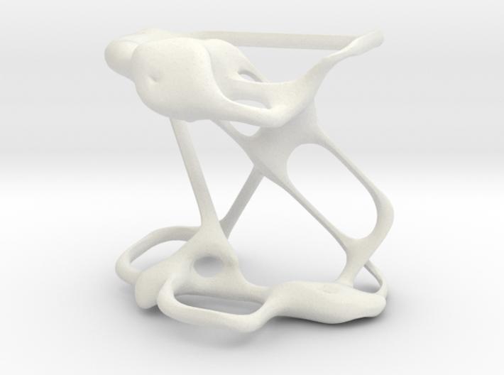 Basidium sculpture 3d printed