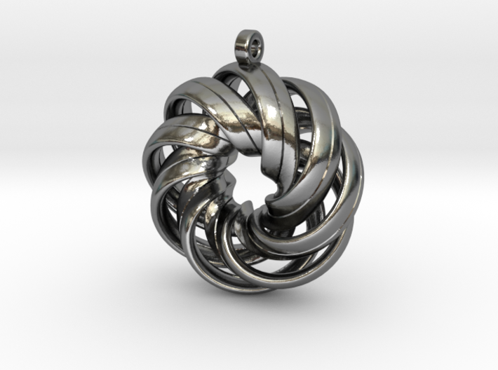 Twisted Mobius Strips 3d printed