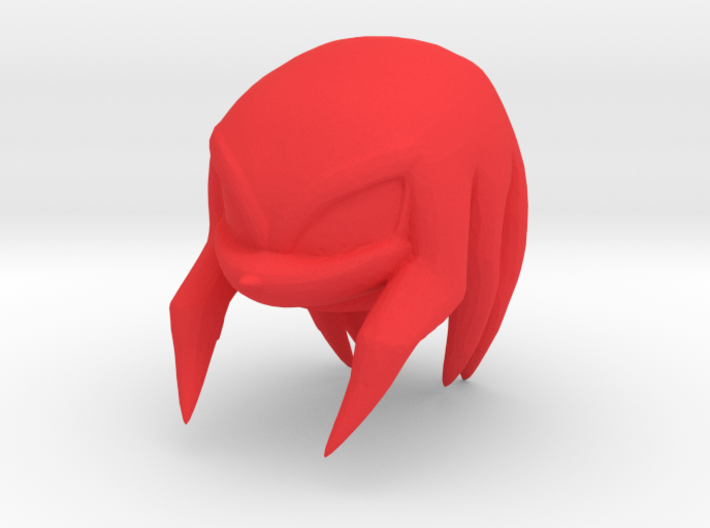 Custom Knuckles The Echidna Inspired Lego 3d printed