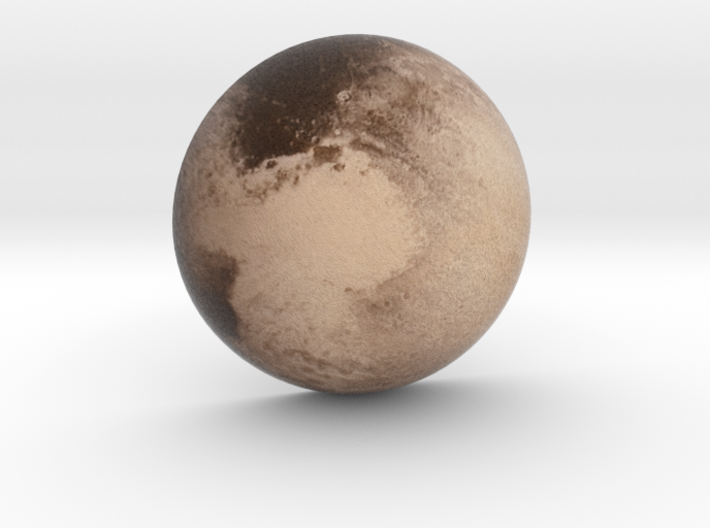 Pluto Small 3d printed
