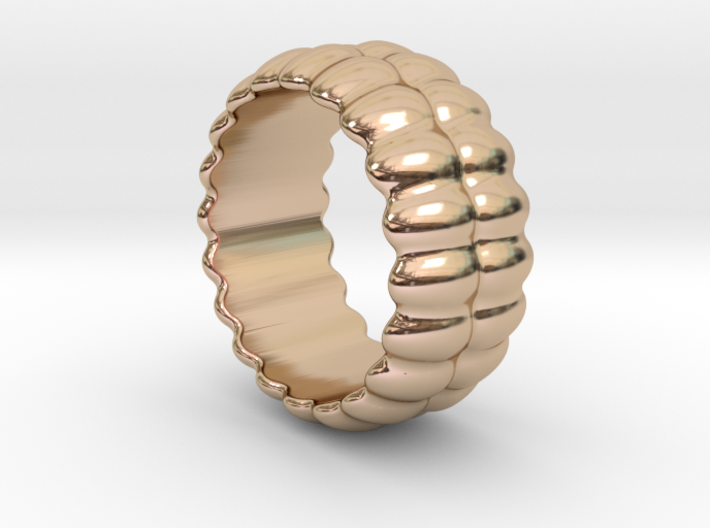 Mirror Ring 32 - Italian Size 32 3d printed